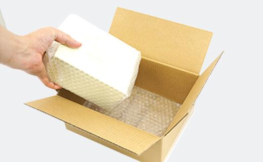 梱包材をお客様ご自身でご用意される場合