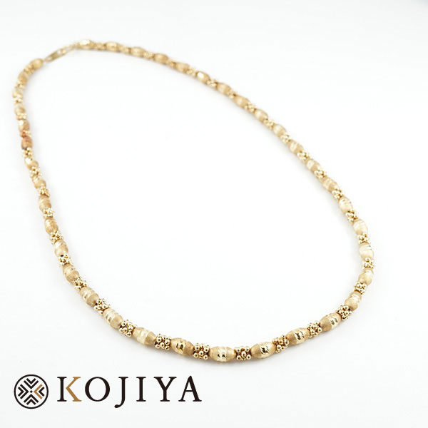K18YG ネックレス イエローゴールド 貴金属 (2021/3/25 K18・1gレート4,561円)