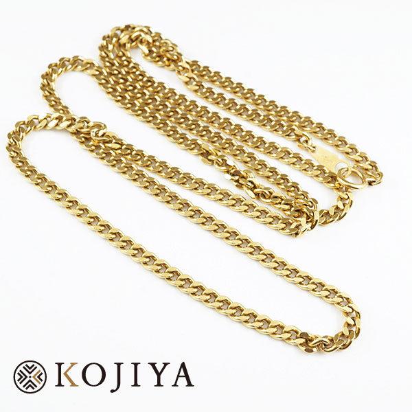 K18YG ネックレス イエローゴールド 喜平 貴金属 (2021/3/19 K18・1gレート4,569円)