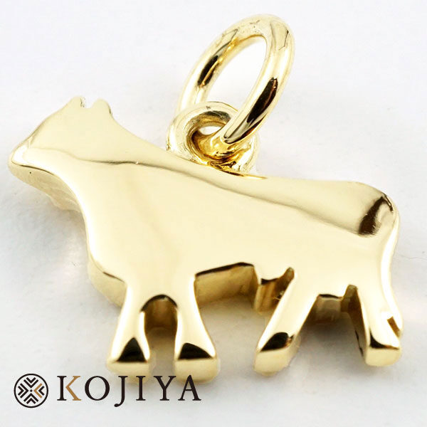 Pomellato ポメラート ネックレストップ 猫 K18YG イエローゴールド 18金 後からネーム刻印あり