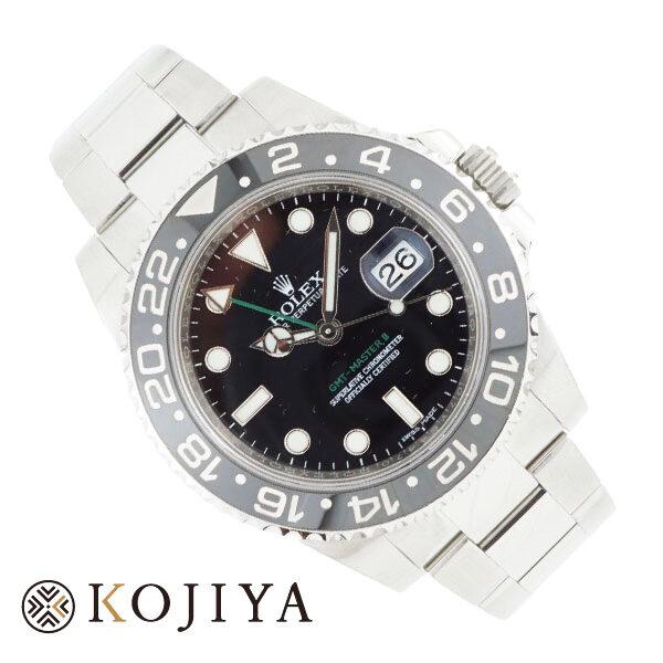 ROLEX ロレックス GMT-MASTER II GMTマスター 116710LN ランダム ブラック 時計 修理必要