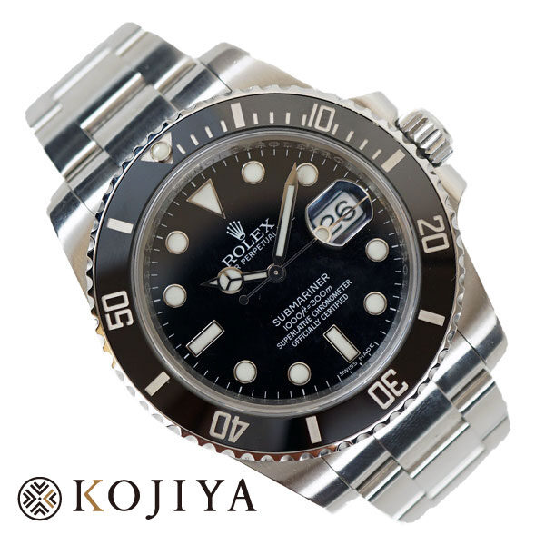 ROLEX ロレックス SUBMARINER サブマリーナ デイト 116610 腕時計 ウオッチ Aランク