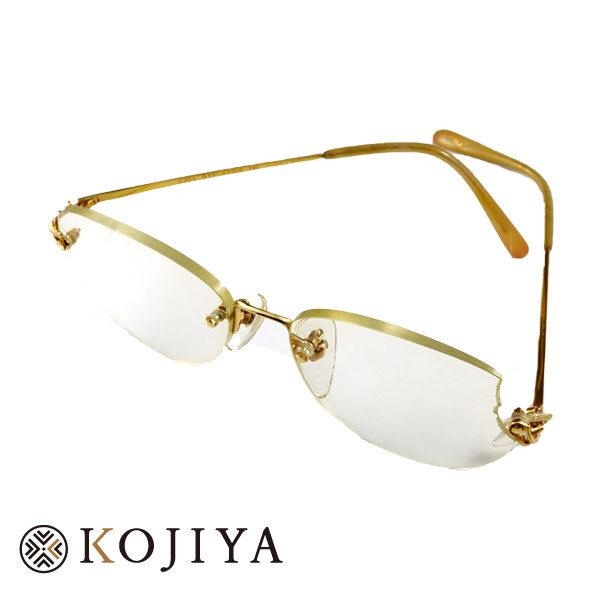 K18YG 貴金属 メガネ 眼鏡 修理必要 買取可能 (2021/5/23 K18・1gレート4,964円)