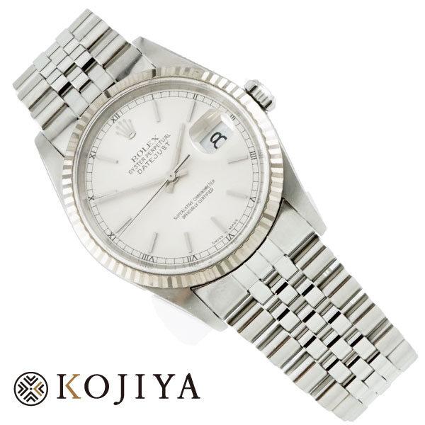 ROLEX ロレックス DATEJUST デイトジャスト バーインデックス 腕時計 16234