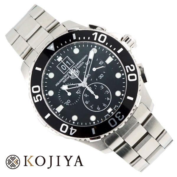 TAG HEUER タグ・ホイヤー アクアレーサー クロノ CAN 1010 メンズ ウォッチ  腕時計  Aランク