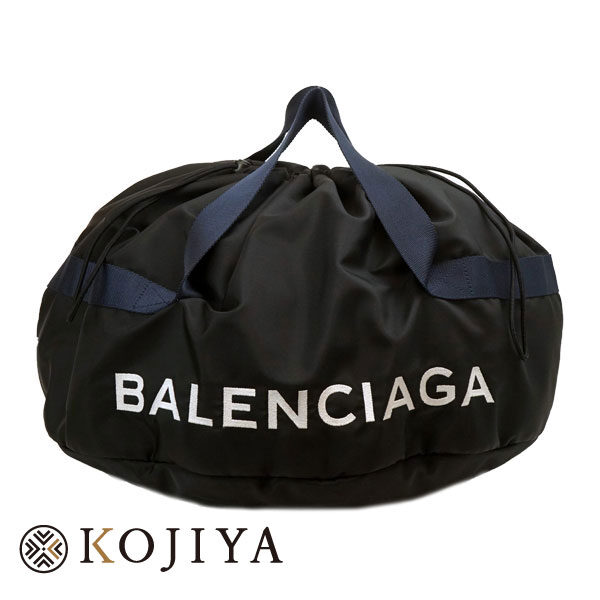 BALENCIAGA バレンシアガ ボストンバッグ 489939 ブラック ホイールバッグ WHEEL BAG ボストンバッグ